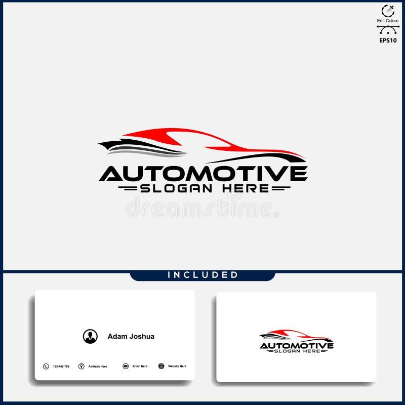 Logotipo do carro, conceito de projeto abstrato do carro, molde automotivo do projeto do logotipo do carro foto de stock royalty free