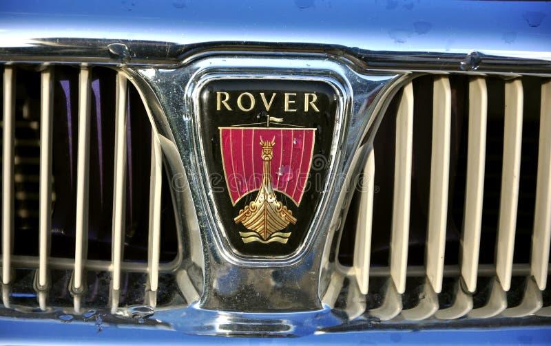 Logotipo do carro do vagabundo imagem de stock