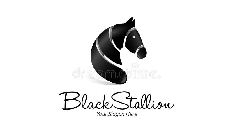 Logotipo do cavalo ilustração royalty free
