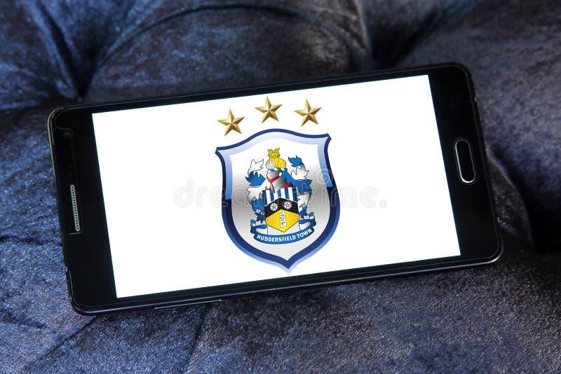 Logotipo do clube do futebol de Huddersfield Town foto de stock