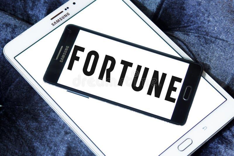 Logotipo do compartimento da fortuna fotos de stock royalty free