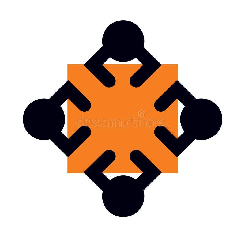 Logotipo do ?cone da oficina ilustração stock