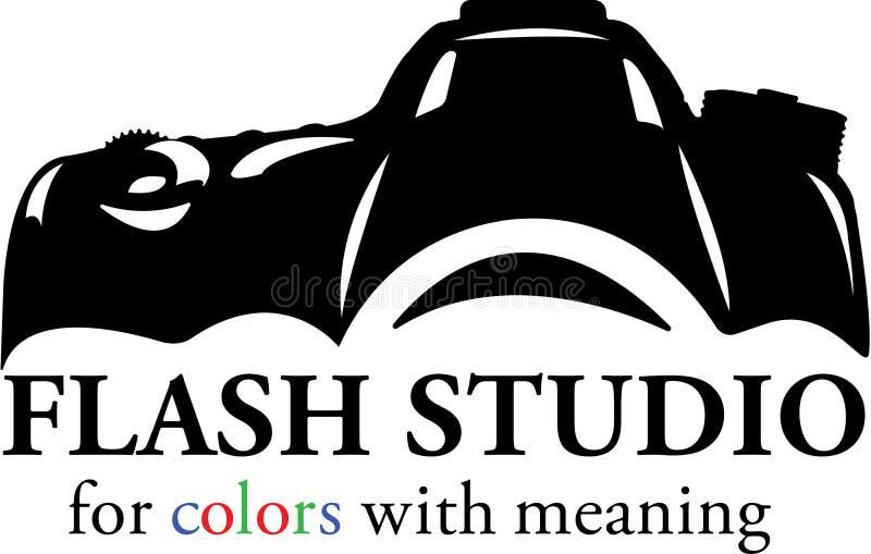 Logotipo do estúdio da fotografia ilustração royalty free