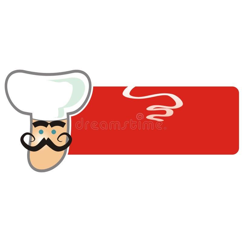 Logotipo do fogão ilustração stock