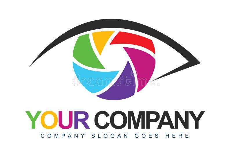 Logotipo do fotógrafo ilustração stock