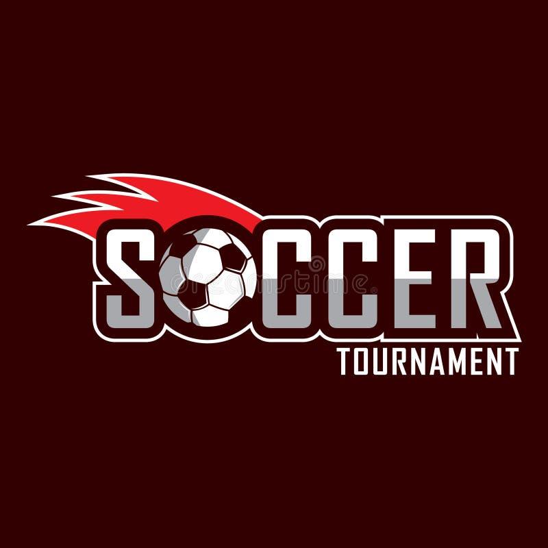 Logotipo do futebol, logotipo de América, logotipo clássico ilustração royalty free