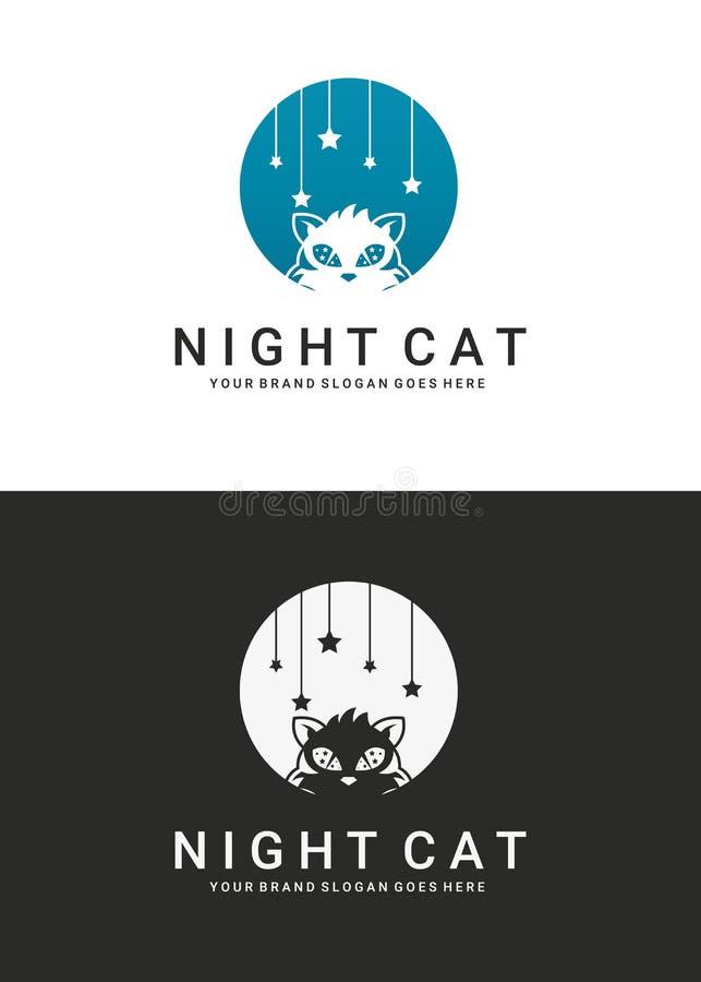 Logotipo do gato ilustração do vetor