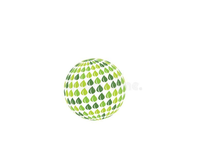 logotipo do ilustration do globo ilustração royalty free
