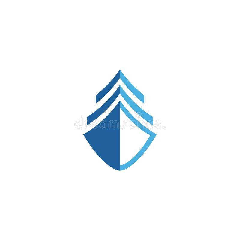 Logotipo do navio de cruzeiros ilustração stock