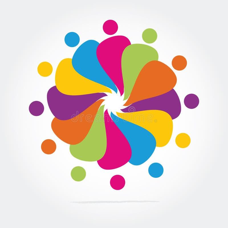 Logotipo do negócio ilustração do vetor