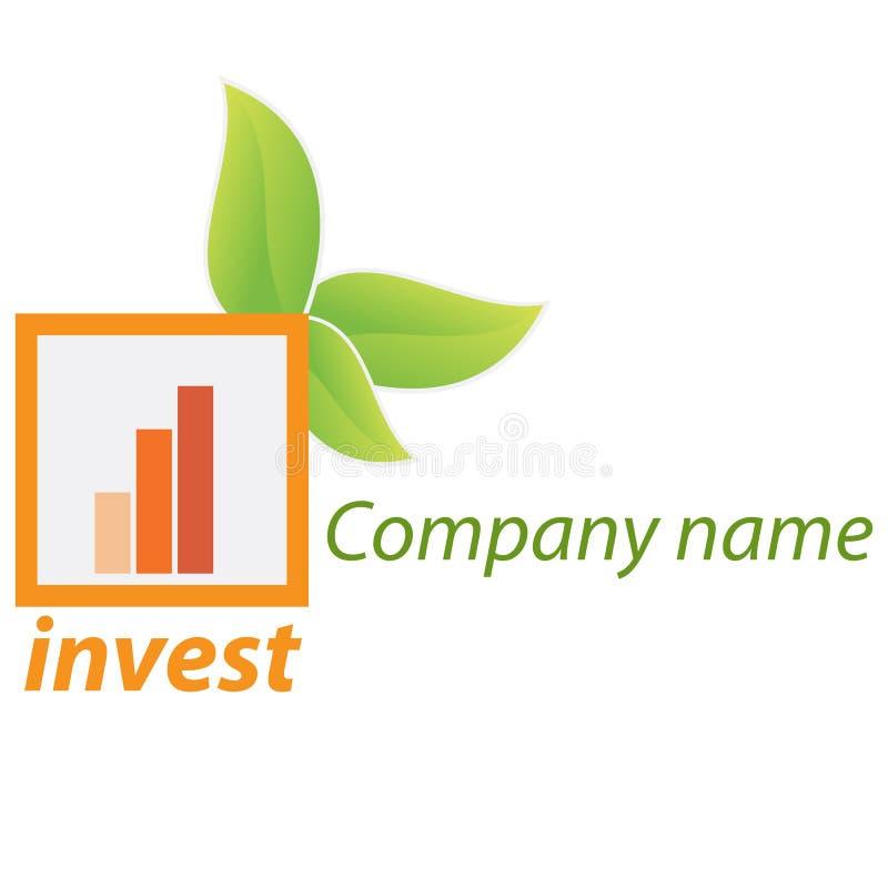 Logotipo do negócio da companhia - investimento