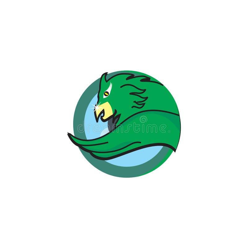 Logotipo do pássaro fotografia de stock royalty free