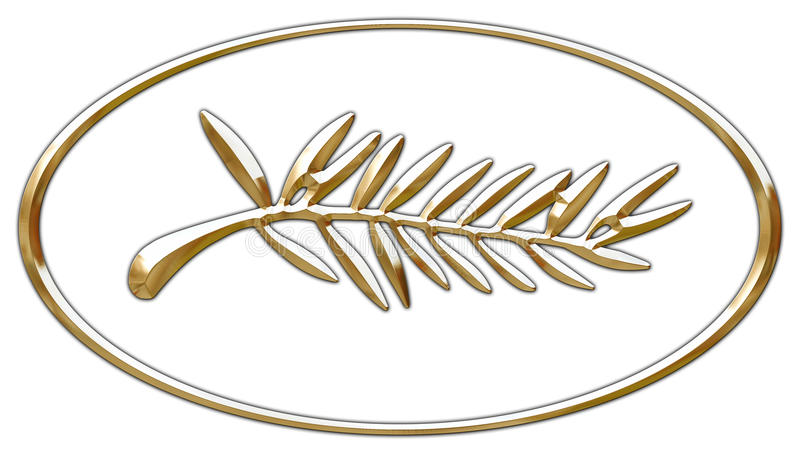 Logotipo do prix de Cannes da palma de ouro