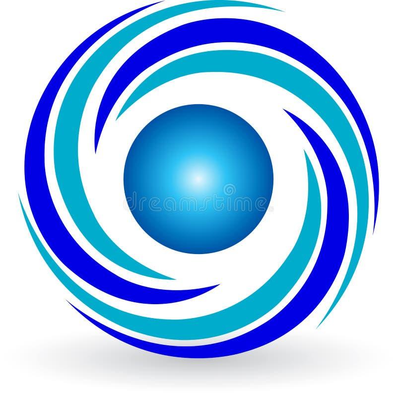 Logotipo do redemoinho