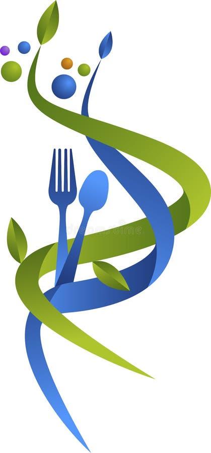 Logotipo do restaurante ilustração stock
