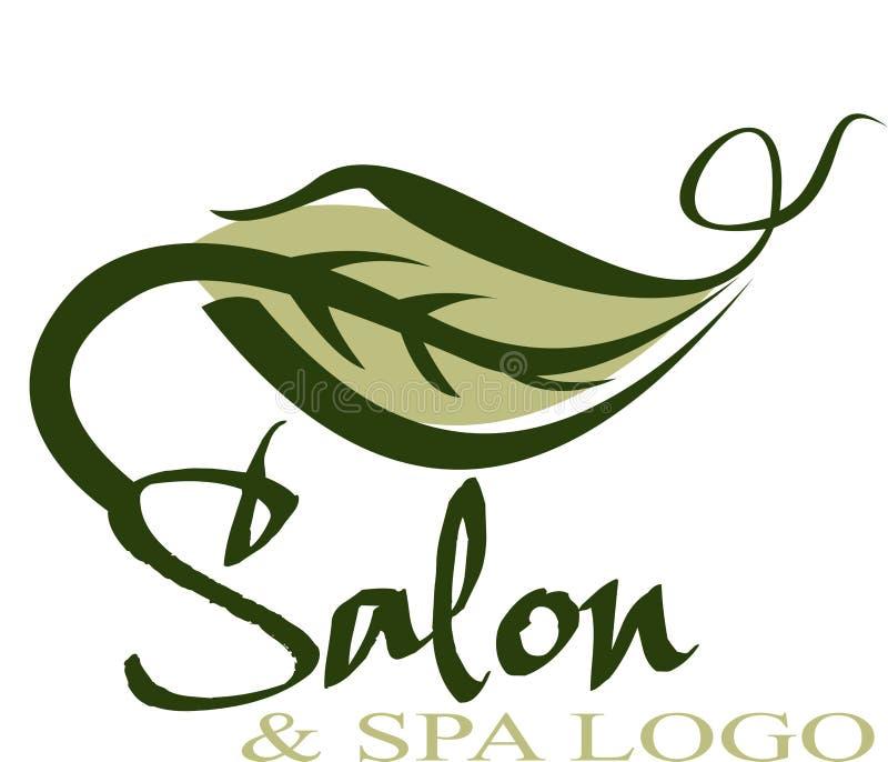 Logotipo do salão de beleza ilustração do vetor