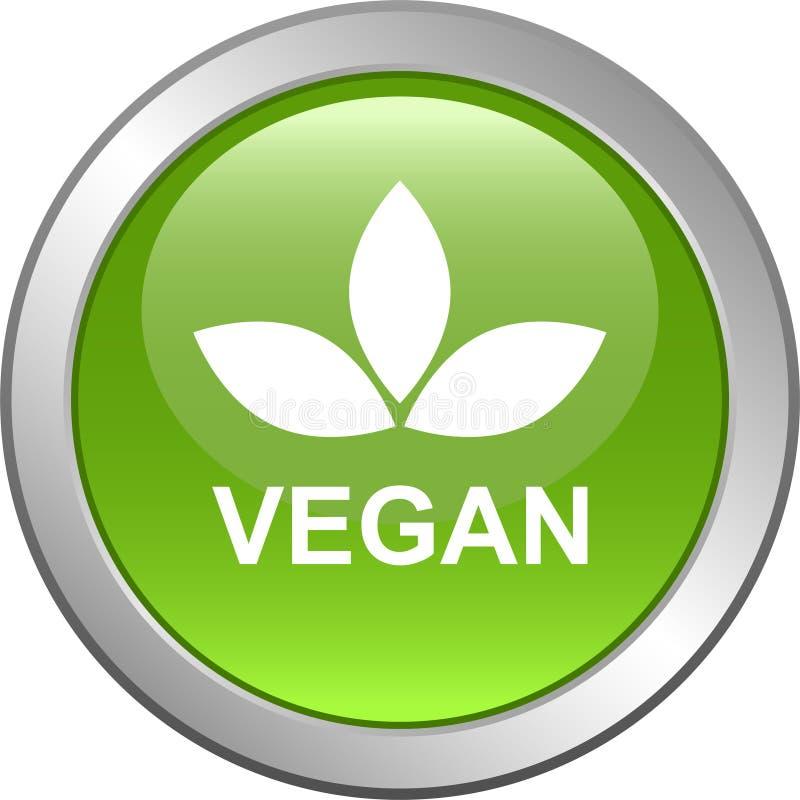 Logotipo do selo do selo do alimento do vegetariano ilustração royalty free