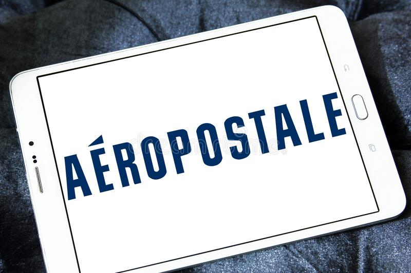 Logotipo do varejista da forma de Aeropostale fotos de stock royalty free