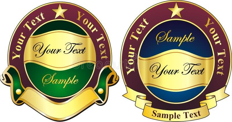 Logotipo do vetor ilustração stock