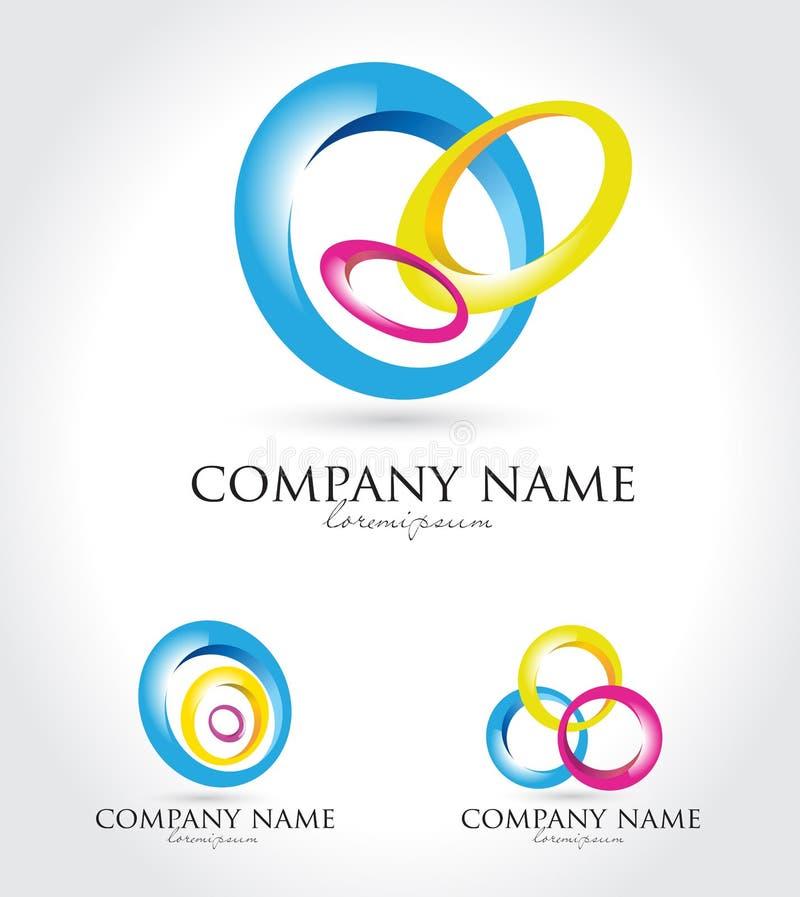 Logotipo do vetor para o negócio ilustração do vetor