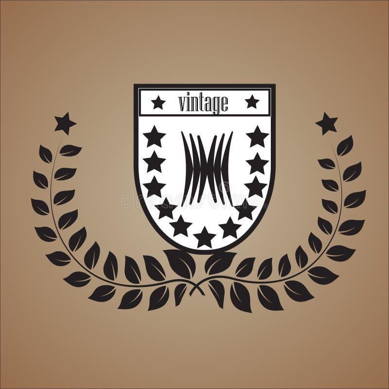Logotipo do vintage imagem de stock royalty free