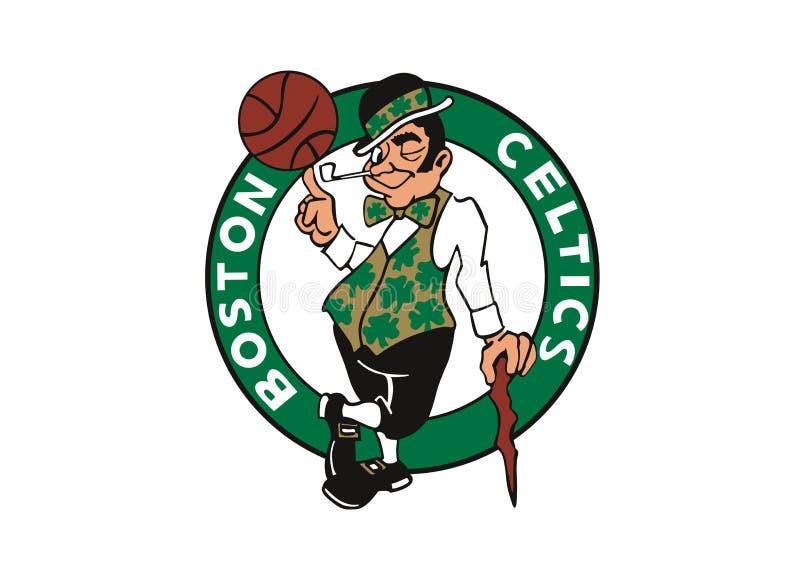 Logotipo dos Boston Celtics ilustração stock