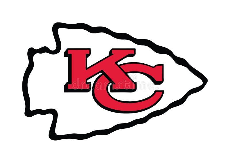 Logotipo dos chefes de Kansas City ilustração do vetor