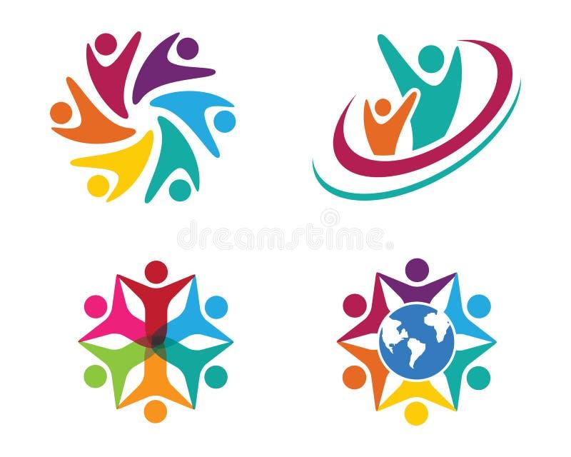 Logotipo dos cuidados comunitários