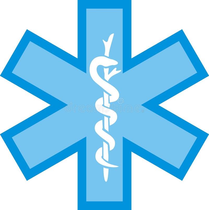 Logotipo dos cuidados médicos ilustração stock