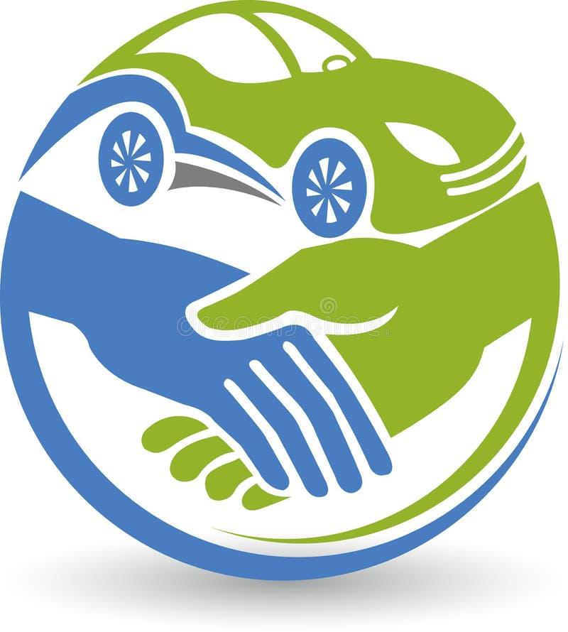 Logotipo dos cursos dos amigos ilustração royalty free
