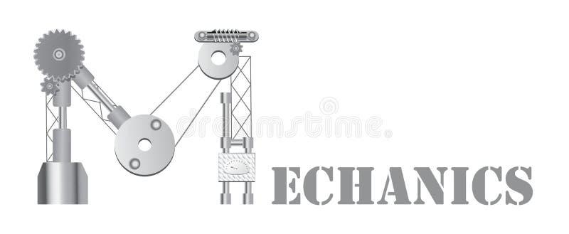 Logotipo dos mecânicos ilustração royalty free