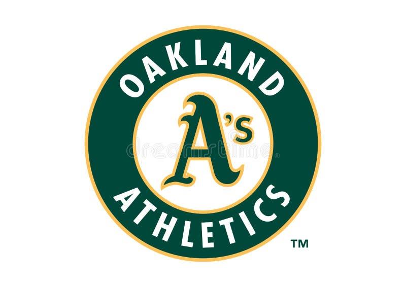 Logotipo dos Oakland Athletics ilustração do vetor