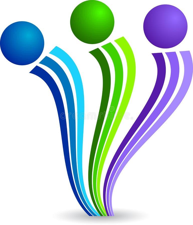 Logotipo Dos Pares Imagens de Stock