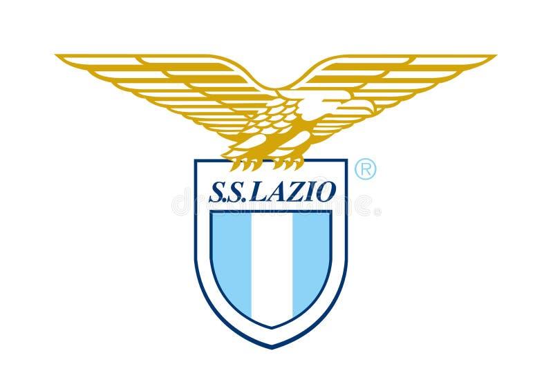Logotipo dos SS Lazio ilustração royalty free