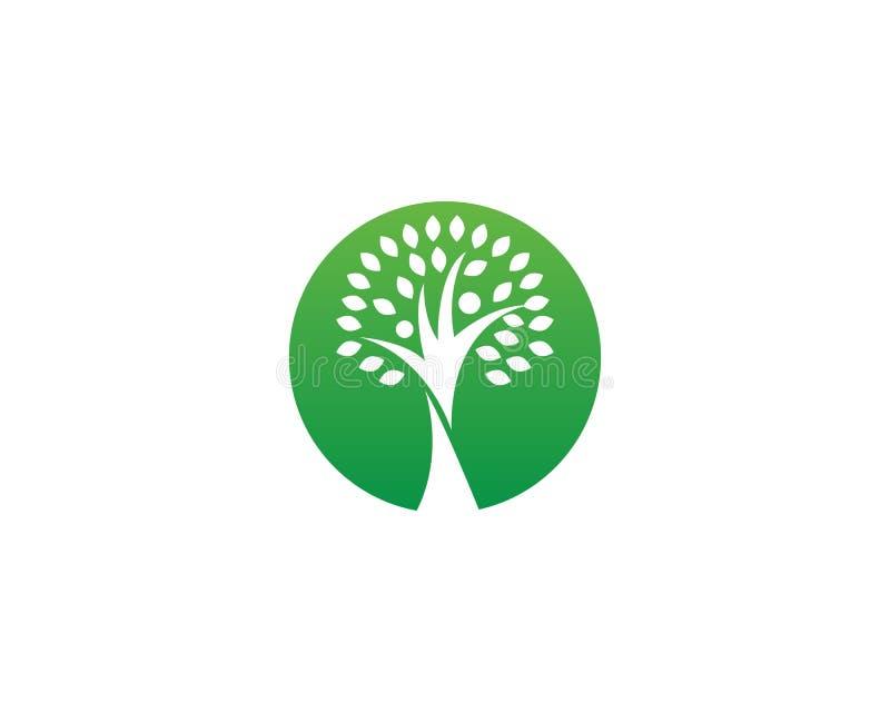 Logotipo e símbolo dos povos da árvore genealógica ilustração do vetor