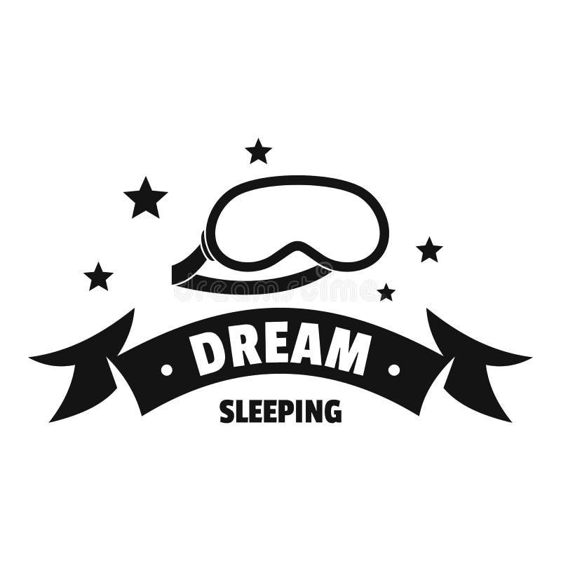 Logotipo el dormir, estilo negro simple libre illustration