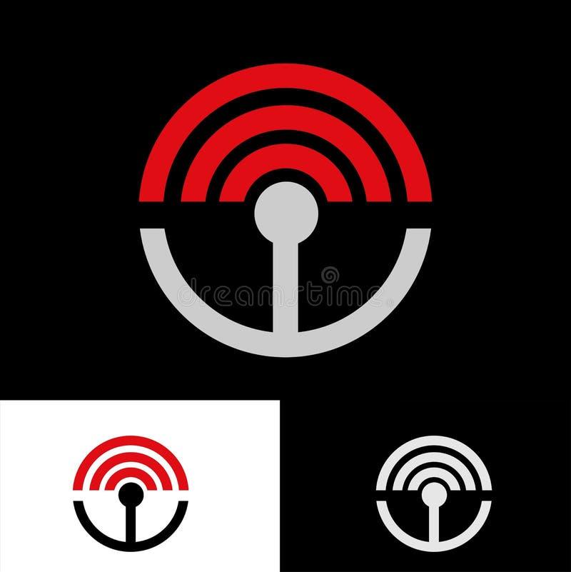 Logotipo enérgico creativo ilustración del vector