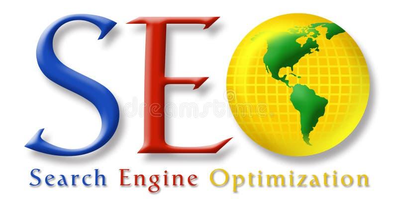 Logotipo estilizado de SEO