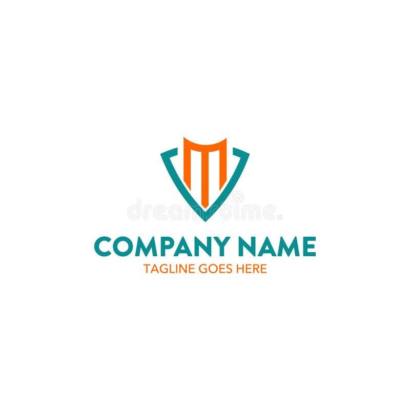 Logotipo financeiro ilustração stock