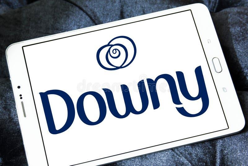 Logotipo fofo do tipo fotografia de stock