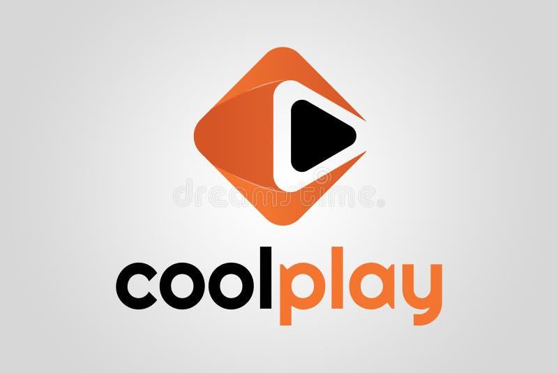Logotipo fresco del juego fotos de archivo libres de regalías