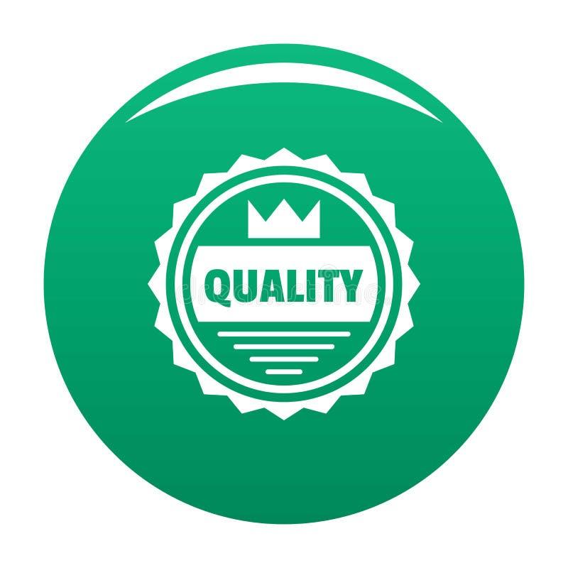 Logotipo grande da qualidade, estilo simples ilustração royalty free