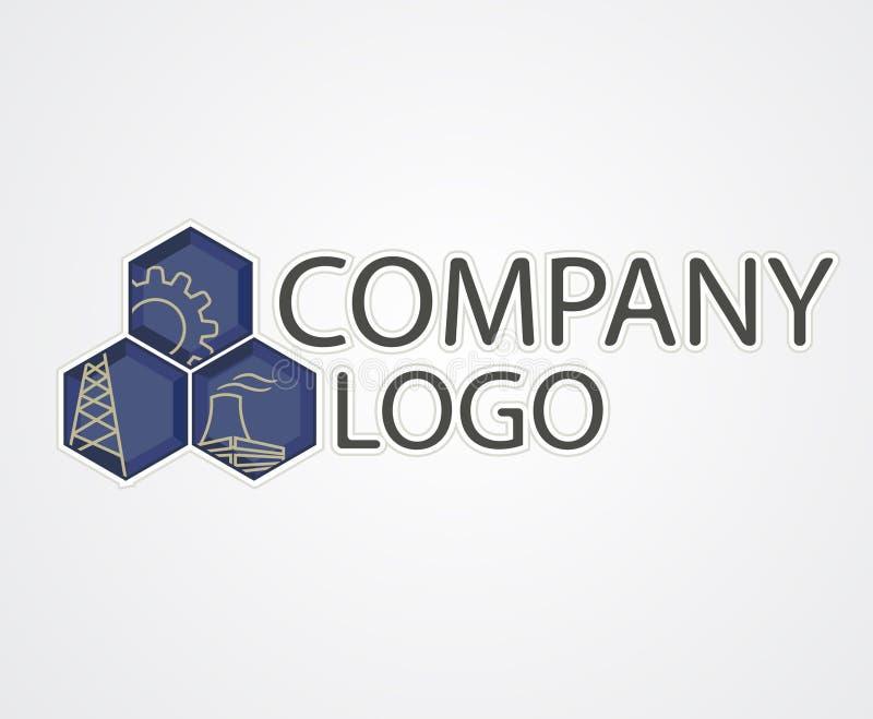 Logotipo industrial libre illustration