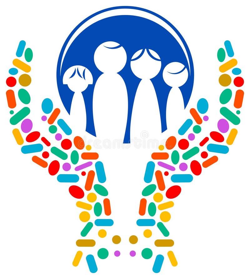 Logotipo médico ilustração royalty free
