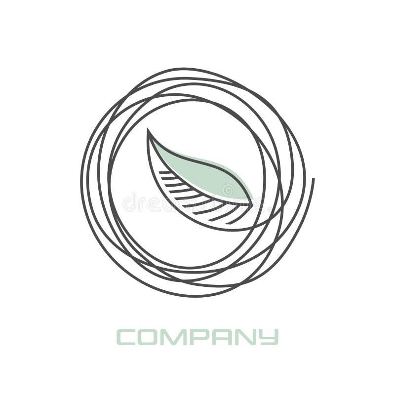 Logotipo moderno de la pestaña Ilustración del vector stock de ilustración