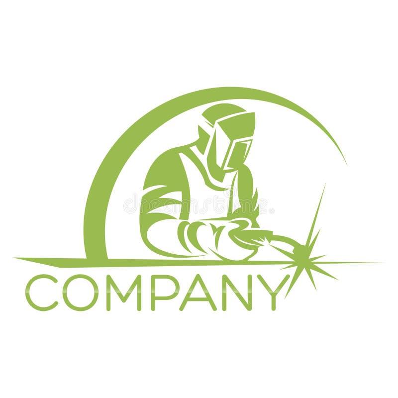 Logotipo moderno do soldador Ilustração do vetor ilustração do vetor