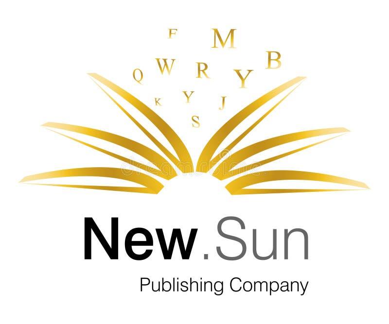 Logotipo novo de Sun ilustração royalty free