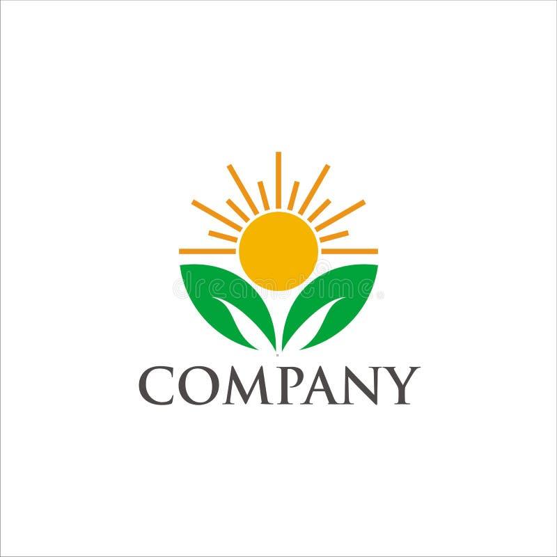 Logotipo orgánico ilustración del vector