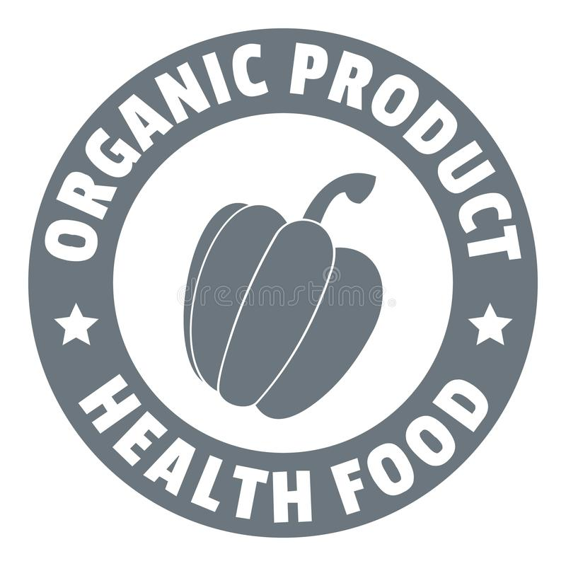 Logotipo orgánico del producto, estilo simple libre illustration