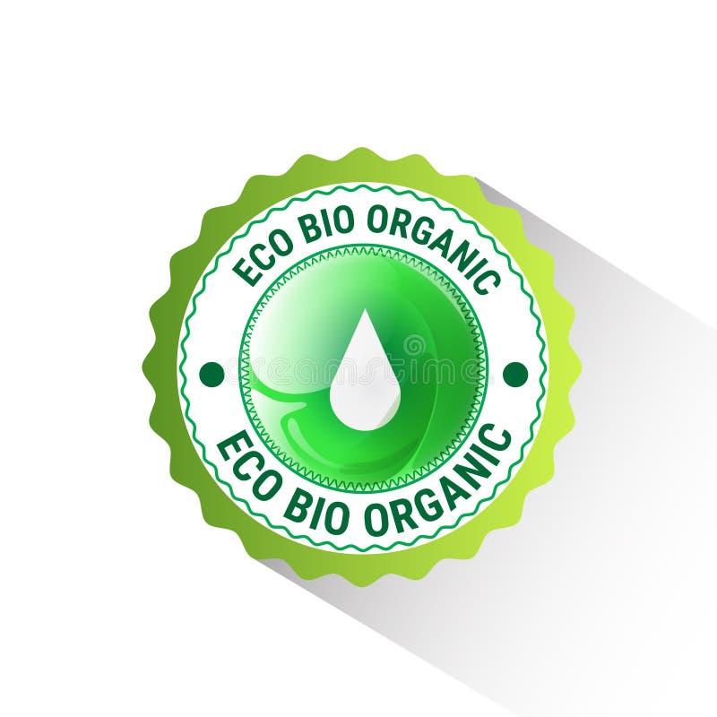 Download Logotipo Orgânico Amigável Do Verde Do ícone Da Web Do Produto Natural De Eco Ilustração do Vetor - Ilustração de vida, orgânico: 80102409